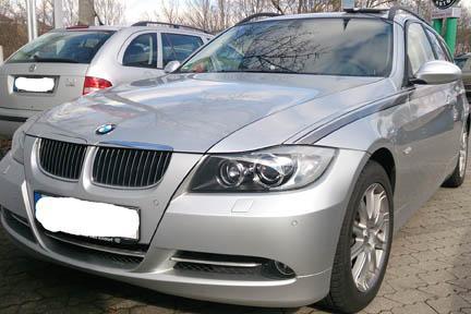 BMW 325i Rechippen erfolgreich